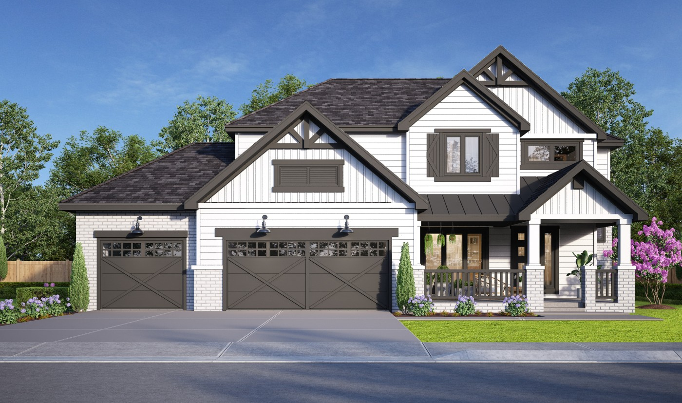 The Aberdeen - 4BR/3.5BA - 2540 sq/ft - Starting at $449,000