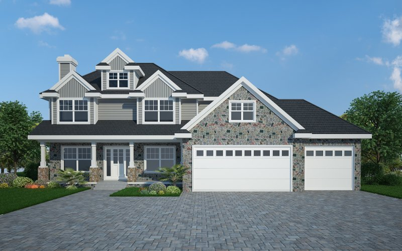 The Logan – 4BR 2.5BA - 3110 sq/ft – Starting at $495,000