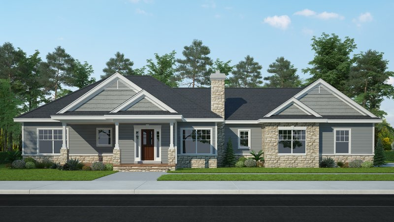 The Fair Ridge – 3BR 2.5BA - 1850 sq/ft – Starting at $350,000