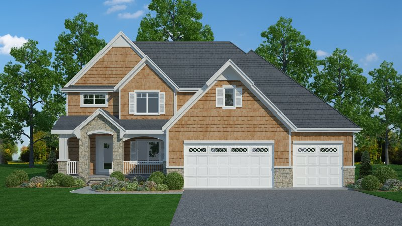 The Hampton – 4BR 3.5BA - 2600 sq/ft – Starting at $485,000