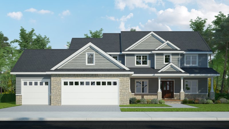 The Oakley – 4BR 3.5BA - 2935 sq/ft – Starting at $479,000