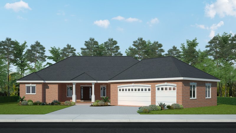 The Palmer – 4BR 2.5BA - 2700 sq/ft – Starting at $485,000